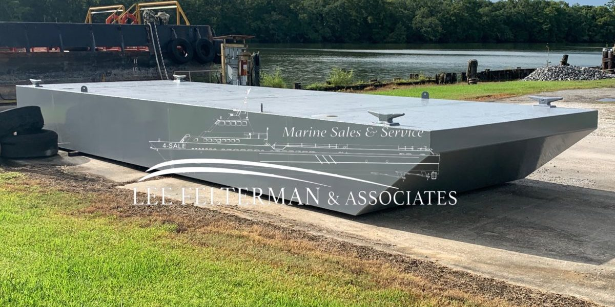 Truckable Barge #355 - 30'x10'x3'